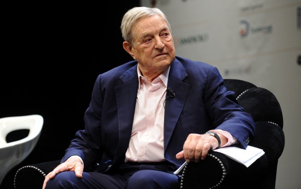 The most corrupt impostor of all time, George Soros, calls Trump a 'would-be dictator' who 'is going to fail'